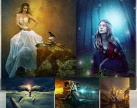 آموزش تکنیک های آتلیه ای فتوشاپ – ترکیب و ویرایش حرفه ای تصاویر به همراه تصحیح رنگ و نورپردازی