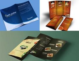 آموزش های کاربردی طراحی کاتالوگ ، بروشور و فولدر تبلیغاتی در فتوشاپ به زبان فارسی