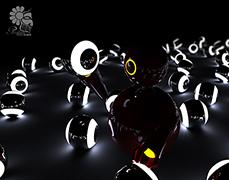 آموزش ویدئویی ویژه ی سینما فوردی – ساخت گوی های نورانی متفاوت و حرفه ای همراه با انیمیت، بافت دهی و رندرینگ به زبان فارسی