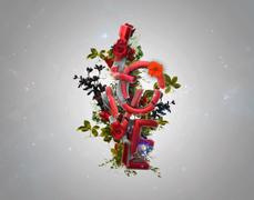 آموزش ویدئویی ساخت متن سه بعدی  عاشقانه  – به زبان فارسی در سینما فوردی و فتوشاپ